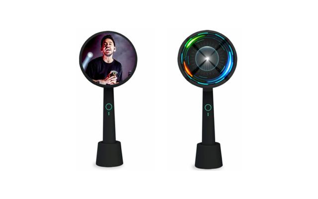 LEDビジョン/ホログラム LED ファン -Handy type-」