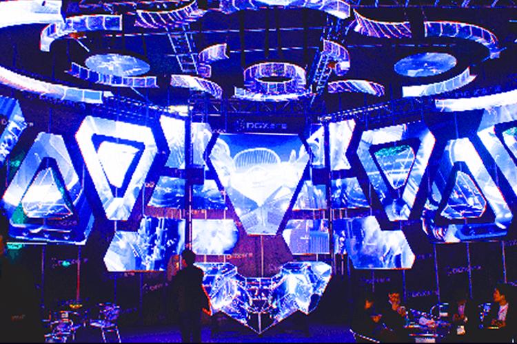 LEDビジョン/DJブース「バトルシップ -Battleship|DGX社製」