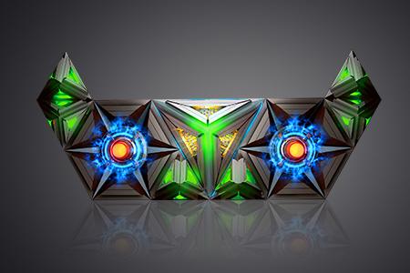 LEDビジョン/DJブース「ナイトエルフ -Night Elves|DGX社製」