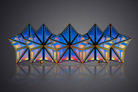 LEDビジョン/DJブース「ファイブスター -Five Stars|DGX社製」