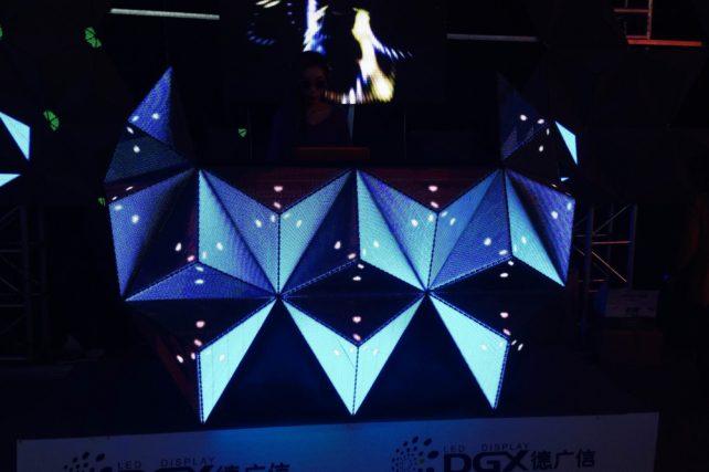 LEDビジョン/DJブース「ナイトエルフ(S) -Night Elves|DGX社製」